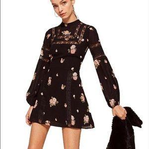 Reformation Sachi Long Sleeve Dress